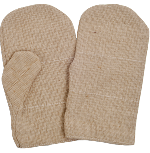 Cotton Jute Mitten Gloves