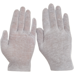 S. Jersey ( Lisle ) Bleached Gloves