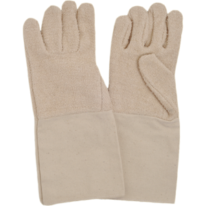 Terry Gloves with cuff